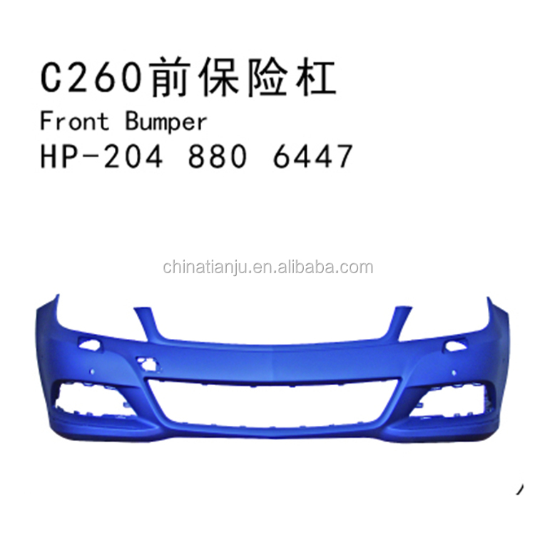 Top grade hot sale for w204 front bumper lip
