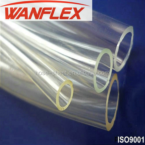 Flexible Best Quality PVC Transparent Clear Hose for Water Fluid