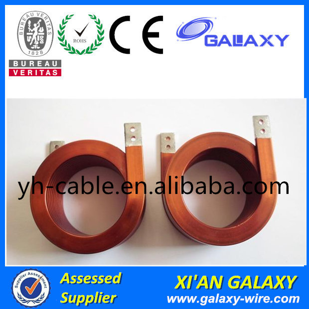 Flat Copper Wire High-power Flat Wire Inductor Used for Power supply,video/audio equipment,LED Power