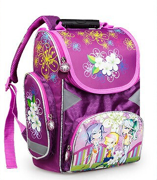 Russia Girls School Bags for Kids Class1-3, kids backpack school bag, school kids backpack, school bags for kid(HC-A669)