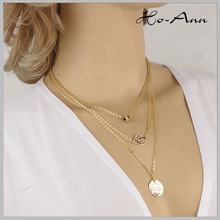 Professional Factory Cheap Wholesale Good Quality initial necklace from direct manufacturer
