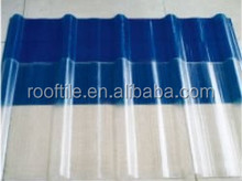 FRP Transparent Plastic Corrugated Roofing Sheet