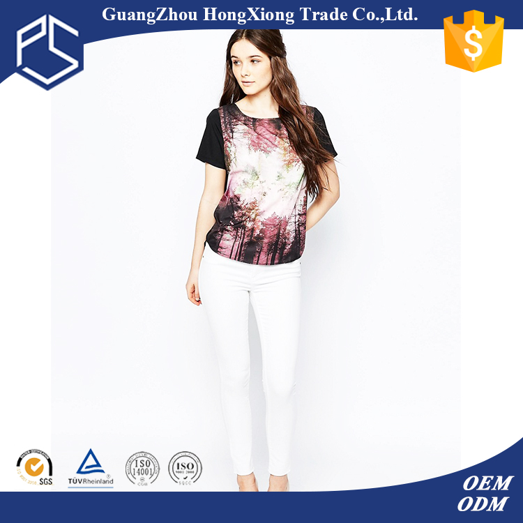 China factory wholesale custom cheap 100 polyester t shirts