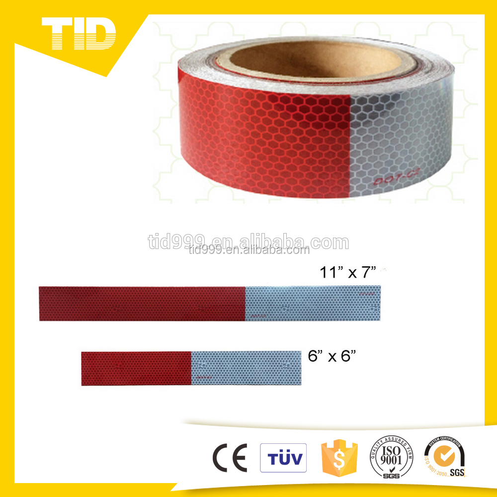 "DOT Reflective Tape 2"" x 150' Red/White"