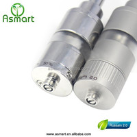 alibaba manufacturer e cig air gesture 1:1 clone s4 atomizer e cig russina 2.0 from Asmart factory