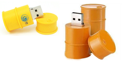 Oil Drum Shape USB Flash Drive