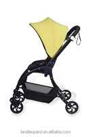 2016 new style simple prams to comfort baby with 3 recliners wide space pram for baby to sleep comfortable and have good sleep