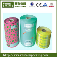 Laminated pouch plastic film roll for agriculture, greenhouse plastic roll film, food plastic film roll