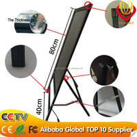 Hot sale RGB LED writing board shining in the dark night with A stand tripod catching eyes