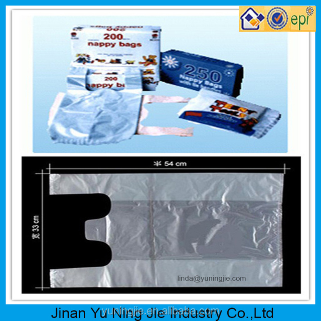 plastic bag insert biodegradable die cut bags