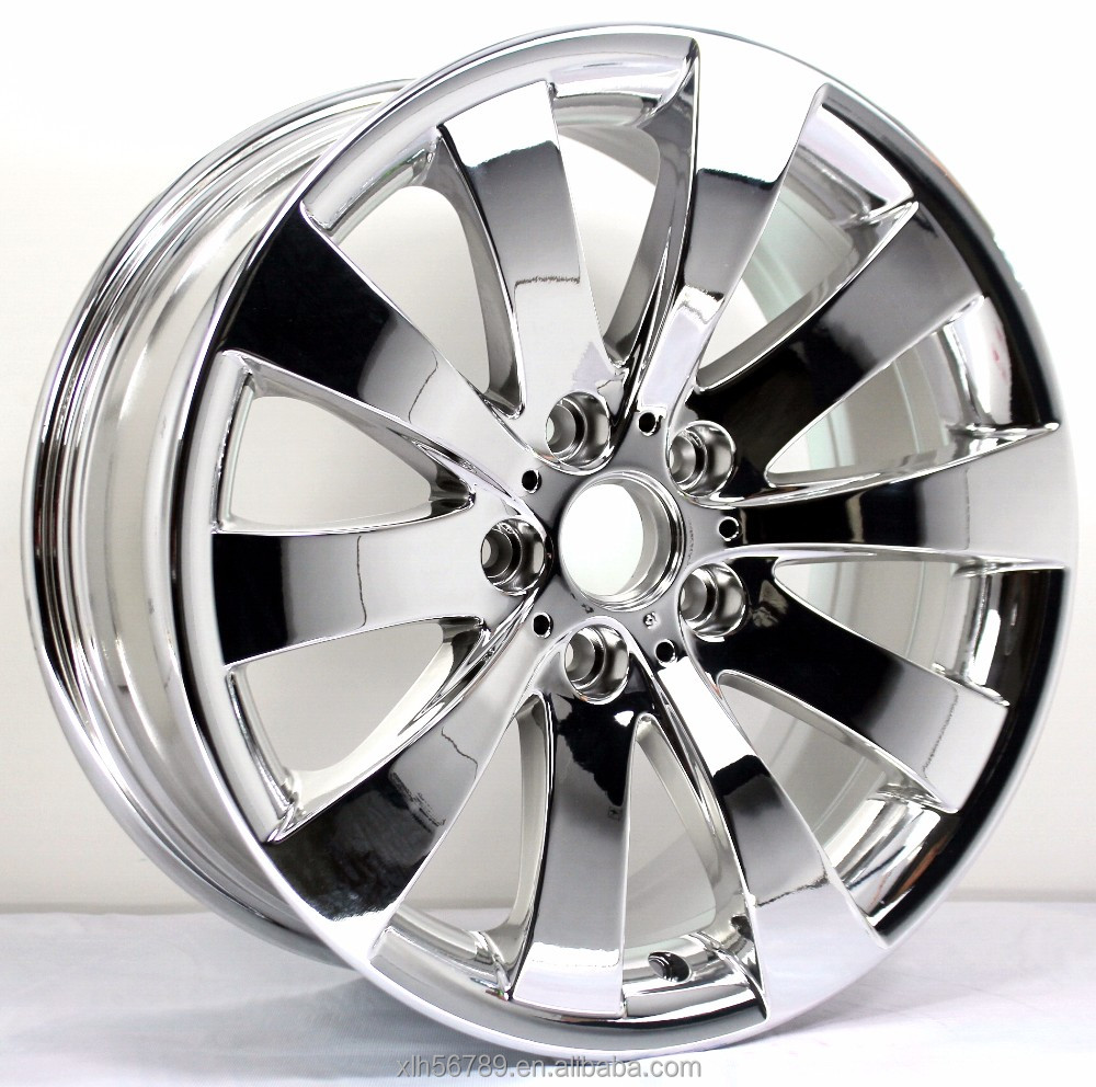 Pacer Silhouette 18x8.0 Chrome Wheel / Rim with a 36mm Offset and a 72.6 Hub Bore