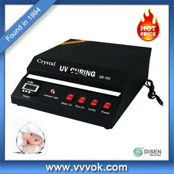 UV photo crystal printing machine