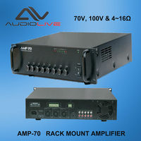 Factory supply sell Professional Power amplifier type AMP-70 Pack mount amplifier
