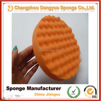 Widely used in Cars Direct factory Very soft custom size polish applicator pads for car