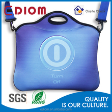 High Quality Colored Custom Neoprene Laptop Sleeve With Shoulder Strap