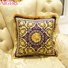 Avigers Car Seat Tassel Sofa Printed Chair Cushion Pillow Covers Couch Cushion Covers
