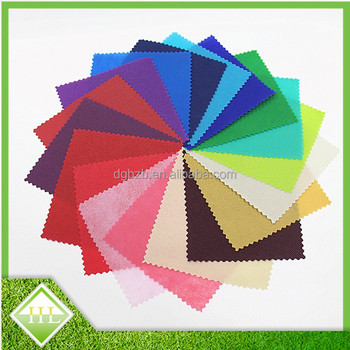 100% Polypropylene Nonwoven Fabric Various Colors For Choose