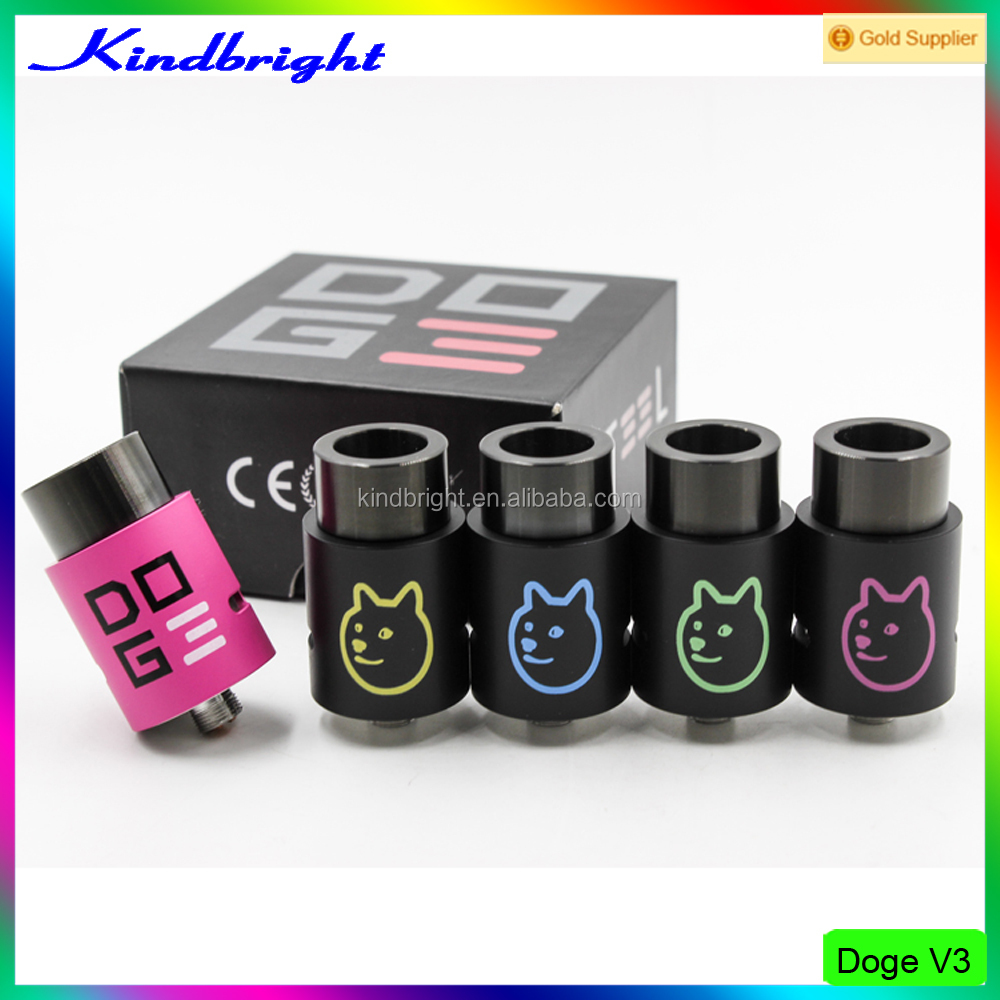 Factory price!!!2016 kindbright arrival High Quality RDA Doge v3 rda/kayfun mini v3 rda/Magma Reborn rda in stock with wholesale