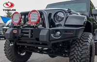 "IP67 waterproof 4wd 9"" round 96w 4x4 led spot lights for jeep wrangler accessories"