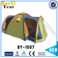 Heated outdoor luxury camping tent