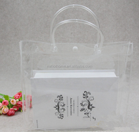 Fashion Clear Tote Shopping Bag As