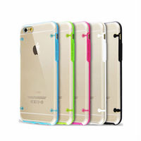 Professional 4 angle dot back Case for iPhone 6 wholesale