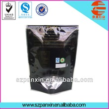 stand up Organic tea plastic packaging bags/green tea bags