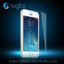 Hot sale !! 0.26mm 9H Hardness 2.5D Anti-Fingerprint Premium Real tempered glass screen protector for iPhone 5