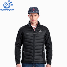 Outdoor Sports Padded Jacket for Winters Men Running Riding Hiking Black