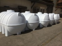 Environment Friendly Factory Produced water tank 250 liter