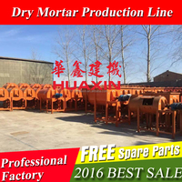 Mini dry mortar production line