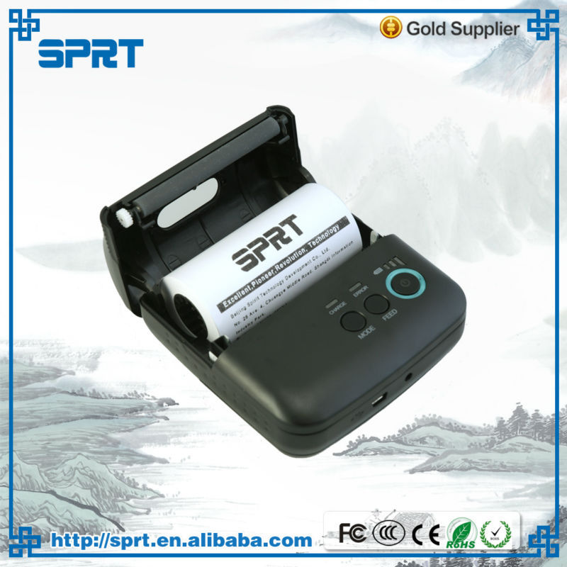 wireless mobile receipt bluetooth printer portable mini printer