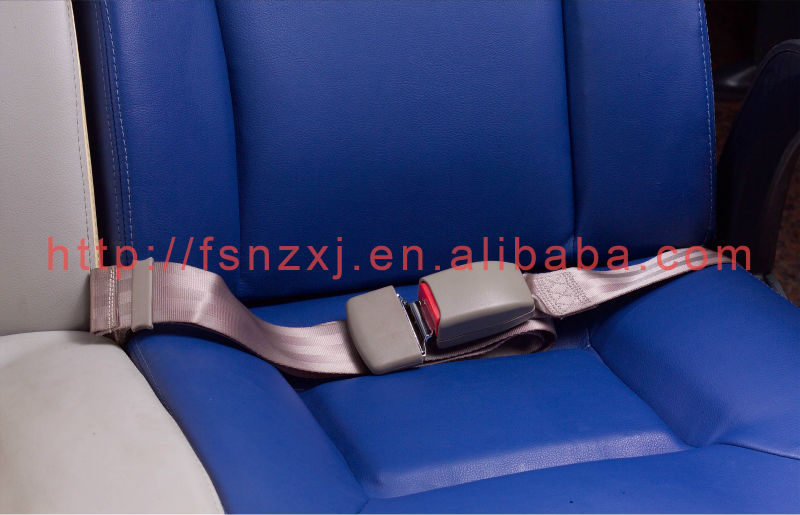 2 points bus chairs seat belt