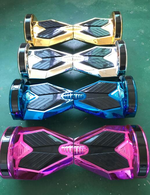 "chrome pink hoverboard 8"" Self Balancing Scooter Chrome Replacement Cover Accessories"