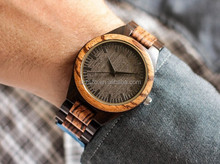 Bewell Top seller dropshipping vogue women's wooden watch