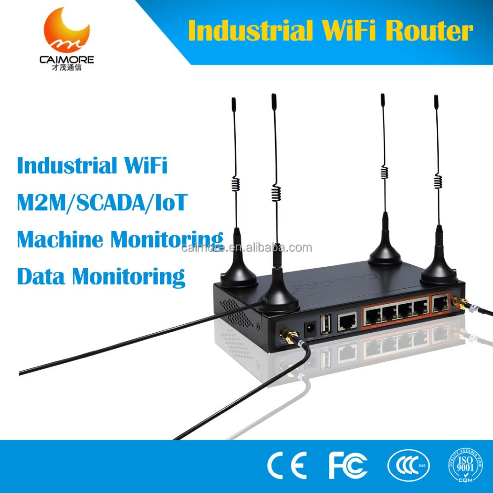 CM520-87F wireless modem industrial 4g router 2.4G wifi with RS232 RS485 slot for IOT, vending machine