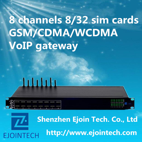 voip sip protocol 32 sim cards goip ussd 8 multi channels cdma gateway with human behavior