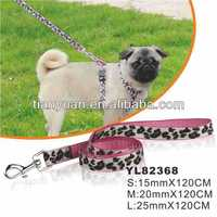 Fashion design dog collar&Leashes direct supplier