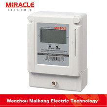 Manufacturer price Single Phase Electrical Prepaid Energy Meter