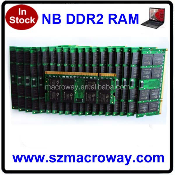 hotselling products China Notebook Memory 2gb Ddr2 800 Mhz ram