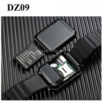 In stock! alibaba china smart watch DZ09 smart watch compatible smart phone,best quality bluetooth smart watch phone