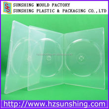 DVD Case Slim,7mm Slim DVD Box Super Clear machine pack