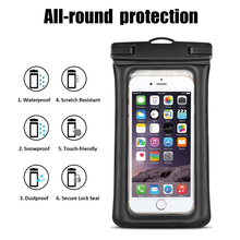 pvc universal waterproof camera case for iphone
