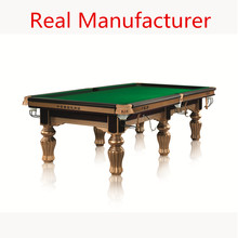 Factory Solid Wood portable pool table for sale