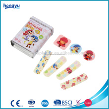 2017 new products customized cartoon wound plaster adhesive plasters