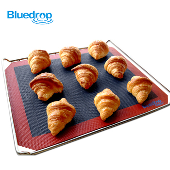 Silicone bakery mats for bread baking