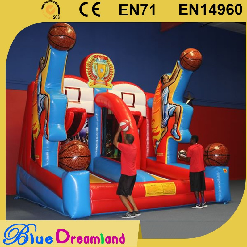 2016 hot collection inflatable soft beach basketball with low price