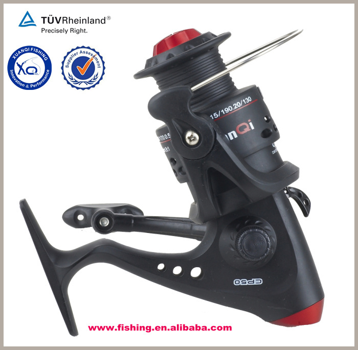 High quality all CNC cut aluminum spinning reel