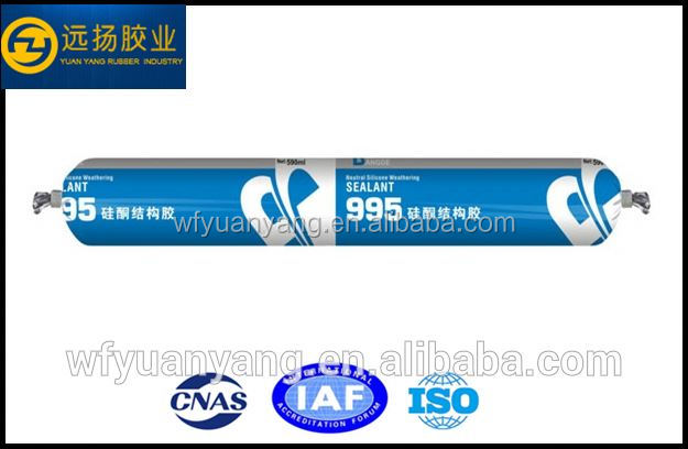 environmental Weatherproof And Stability Structural Silicone Sealant