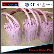 PWHT ceramic heating pad ceramic heater for weld preheat